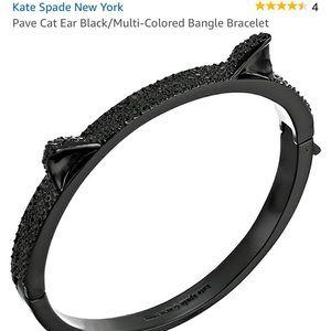 NWT Kate Spade Cat Bangle Bracelet